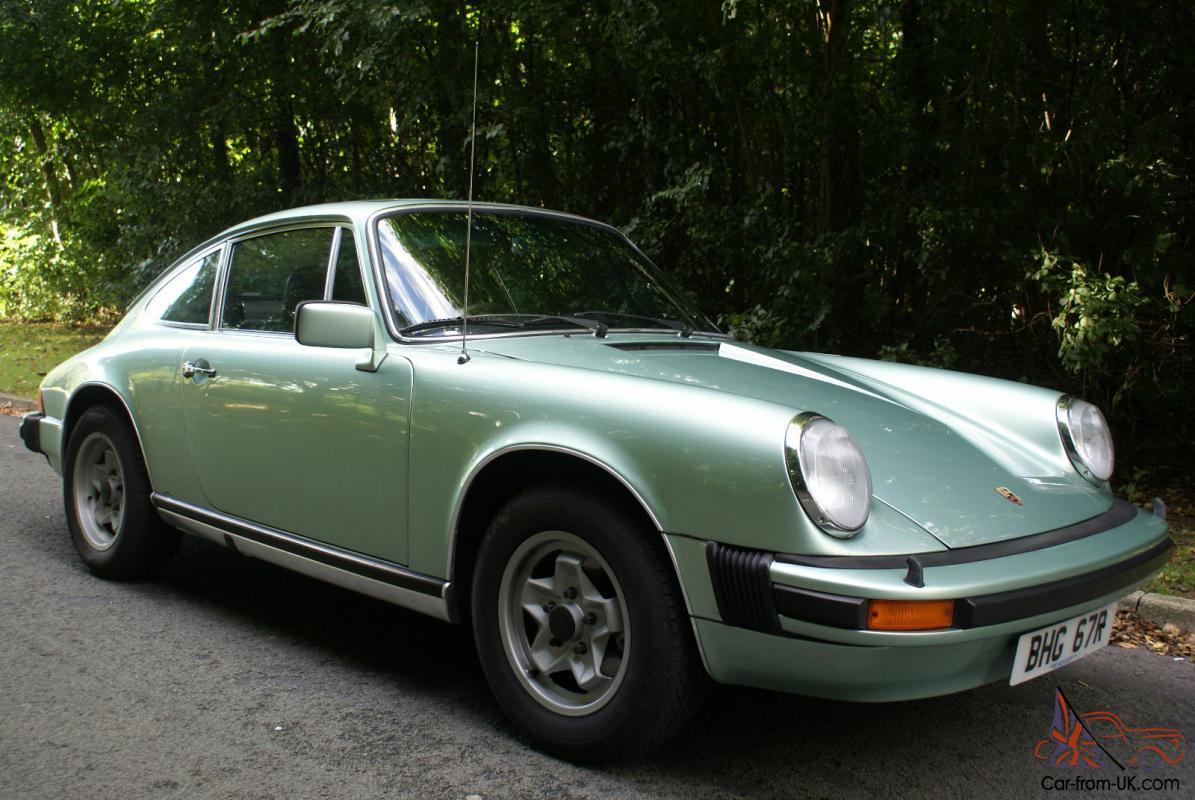 Porsche 911 Carrera 2 7 Coup 233 G Serie 8 1975 7 1977